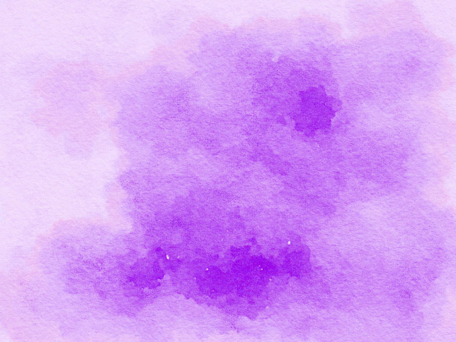 purple water color